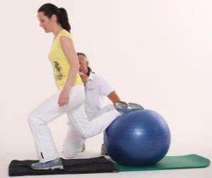 Fitness Training Ausfallschritt
